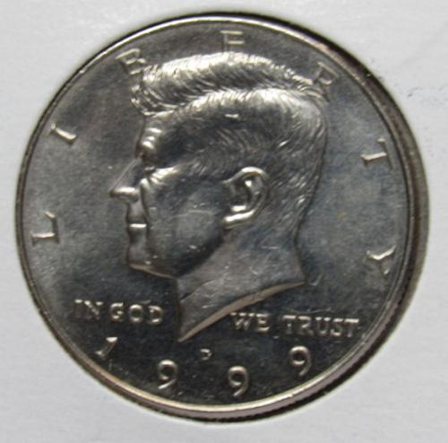 1999 D & 1999 P Kennedy Half Dollars