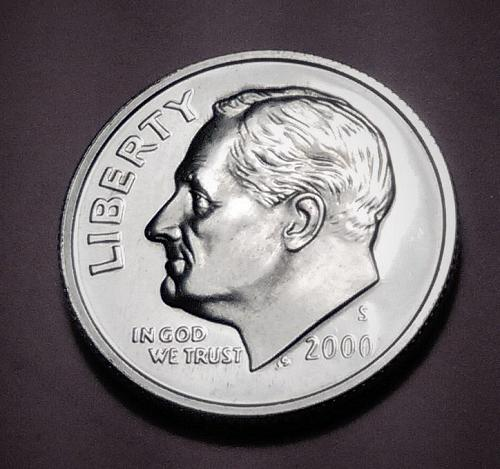 PROOF 2000-S SILVER ROOSEVELT DIME