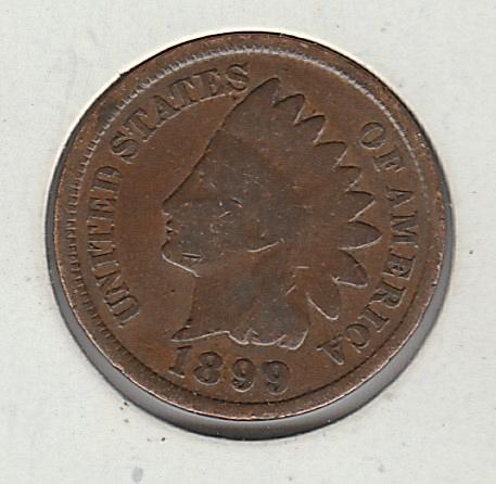 1899 p Indian Head Penny #3