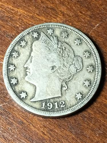 1912 Liberty Nickel Item 0419007