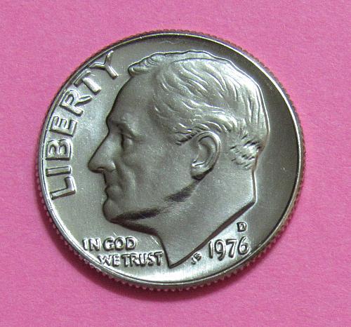 1976-D 10 Cents - Roosevelt Dime