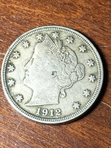 1912 Liberty Nickel Item 0419009