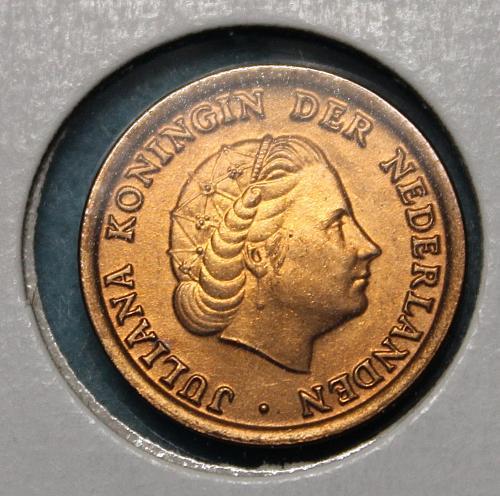 Netherlands 1951 1 cent