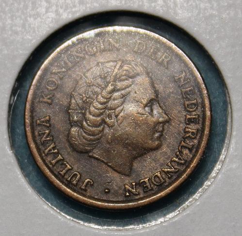Netherlands 1957 1 cent