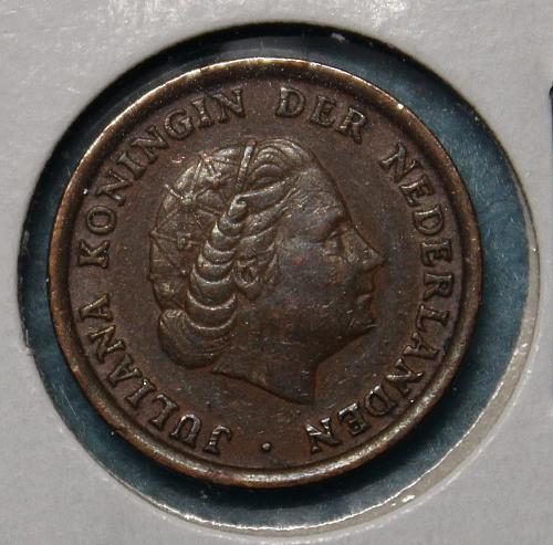 Netherlands 1963 1 cent