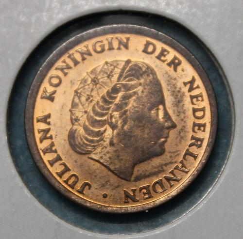 Netherlands 1965 1 cent