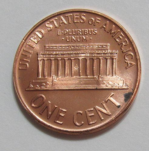 1965 1 Cent - Lincoln Memorial Cent - Proof Like