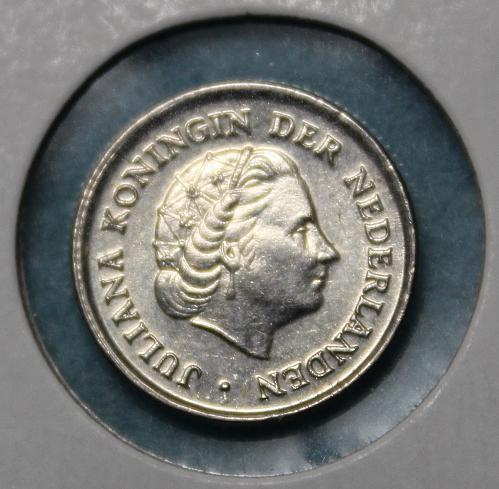 Netherlands 1971 10 cents