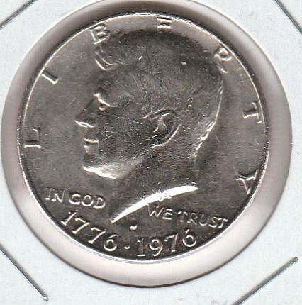 1976 D Kennedy Half Dollars - #2