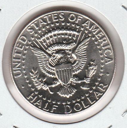 1986 D Kennedy Half Dollars - #2