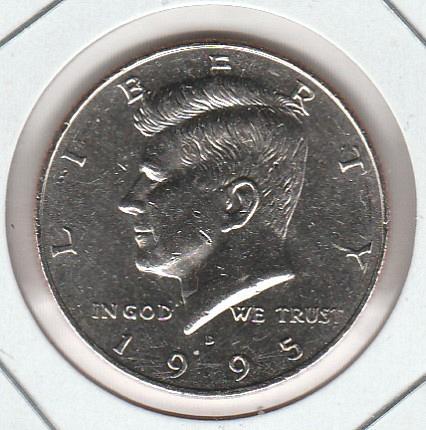 1995 P Kennedy Half Dollars - #2