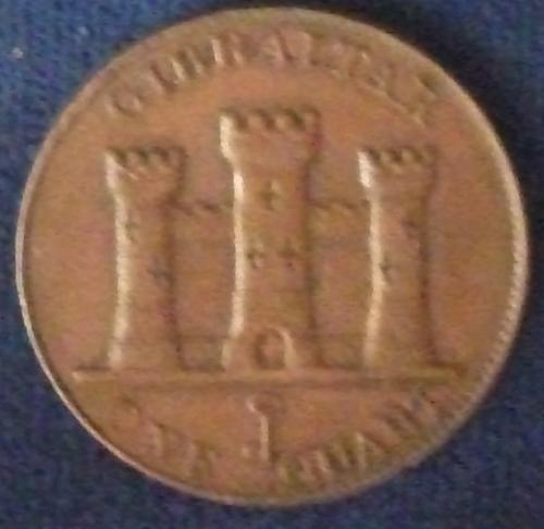 1842/0 Gibraltar Quart XF+