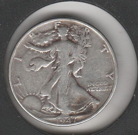 1941 P Walking Liberty Half Dollars - #3