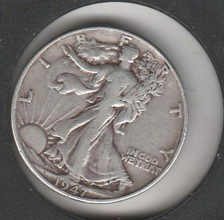 1947 P Walking Liberty Half Dollars - #2