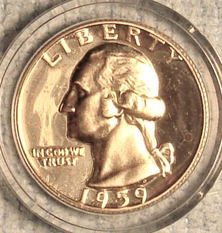 1959 P Washington Quarter Proof