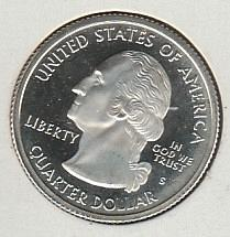 2000 S South Carolina 50 States and Territories Quarters: Silver Proof - #3