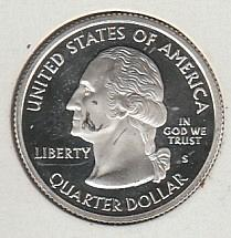 2004 S Texas 50 States and Territories Quarters: Silver Proof - #2