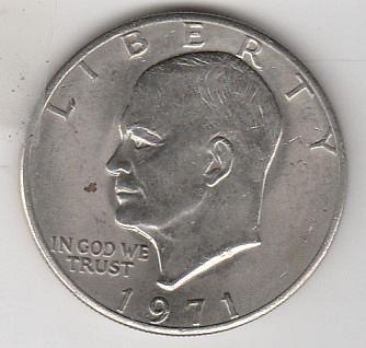 1971 P Eisenhower Dollars - #2
