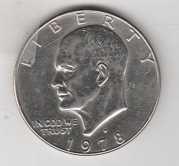 1978 D Eisenhower Dollars - #2