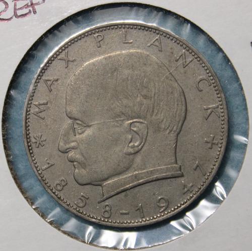 Germany (Federal Republic) 1957F 2 Mark