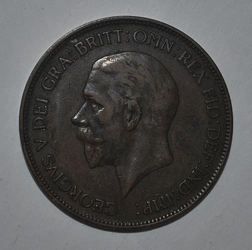 Great Britain one penny 1929