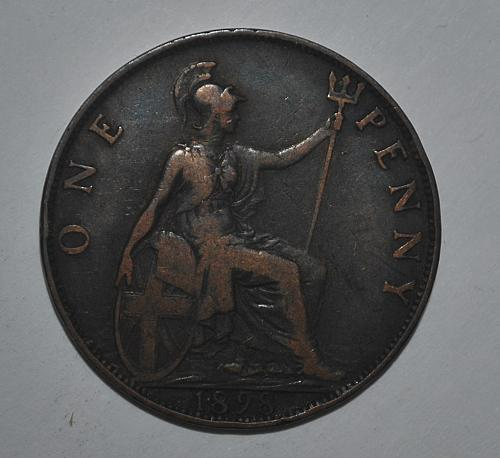 Great Britain one penny 1898