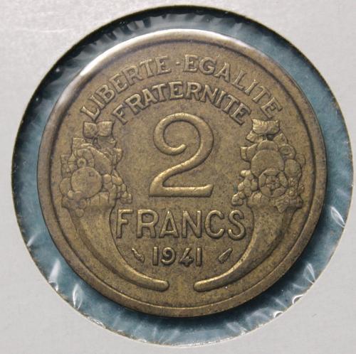 France 1941 2 Francs