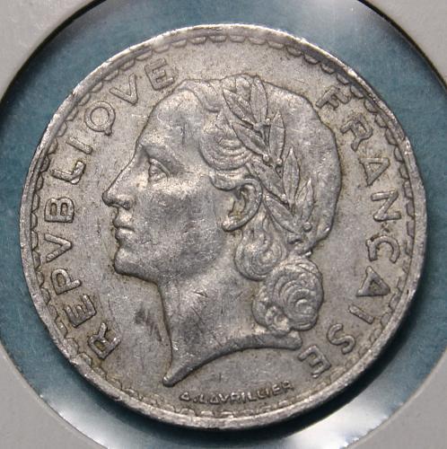 France 1949 5 Francs