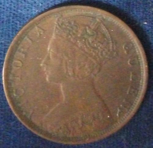 1901 Hong Kong Cent XF+