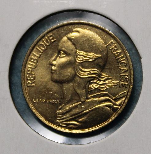 France 1997 5 centimes