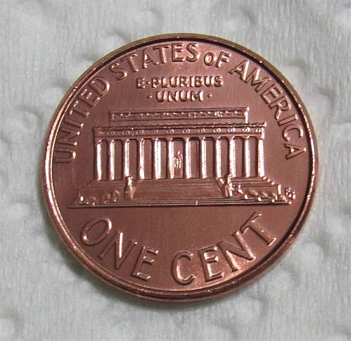 2006 1 Cent - Lincoln Memorial Cent