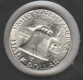 1962 D Franklin Half Dollars - #2