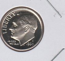 1990 S Proof Roosevelt Dimes - #2