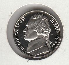 1992 s Proof Jefferson Nickel - #2