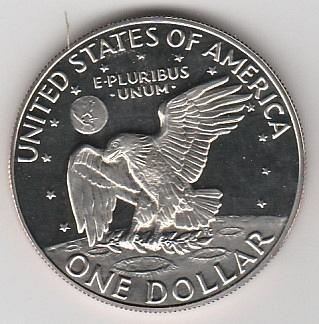 1974 S Eisenhower Dollars - #2