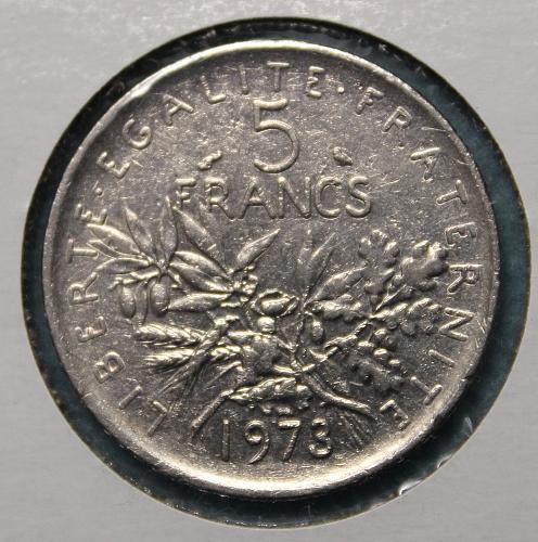 France 1973 5 Francs