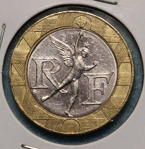 France 1991 10 Francs