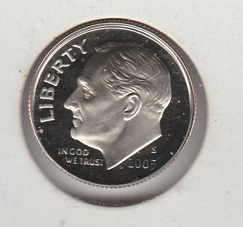 2005 S Roosevelt Dimes - #2