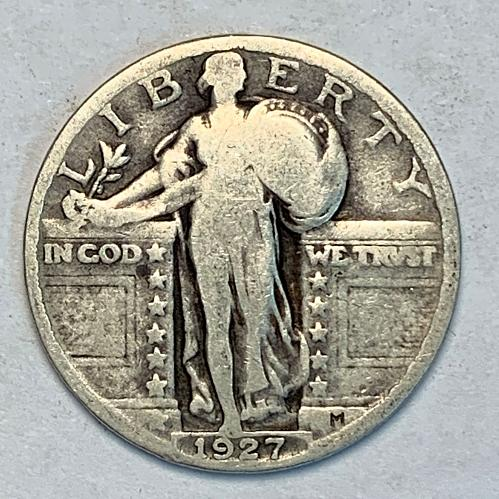 1927 Standing Liberty Quarter [SQ 5]