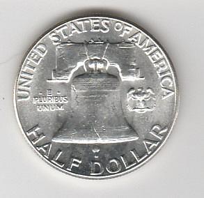1963 p BU Franklin Half Dollar        #3
