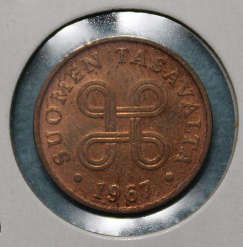 Finland 1967 1 penni