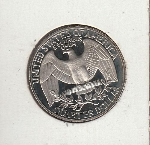 1989 S Washington Quarters - #2
