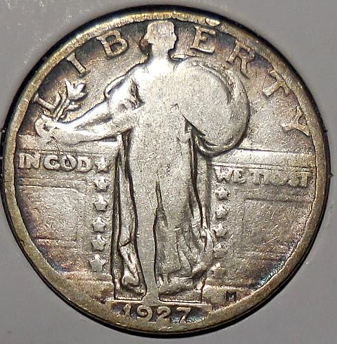 Standing Liberty Quarter 1927-P