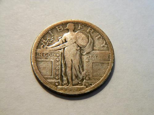 1917-P *Type 1* Standing Liberty Silver Quarter