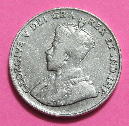1923 Canada 5 Cents