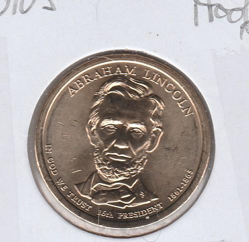 2010 S Proof Presidential Dollars: Abraham Lincoln - #2