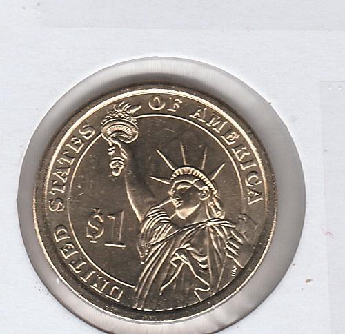 2009 S Proof Presidential Dollars: John Tyler - #2