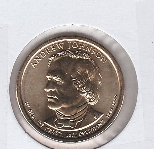 2011 S Proof Presidential Dollars: Andrew Johnson - #2