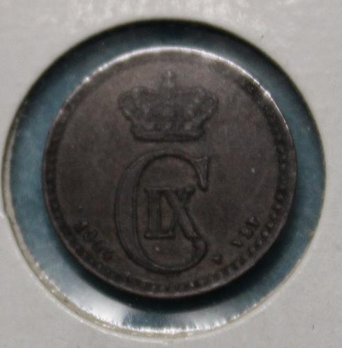 Denmark 1904 1 ore