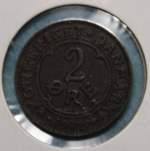 Denmark 1912 2 ore